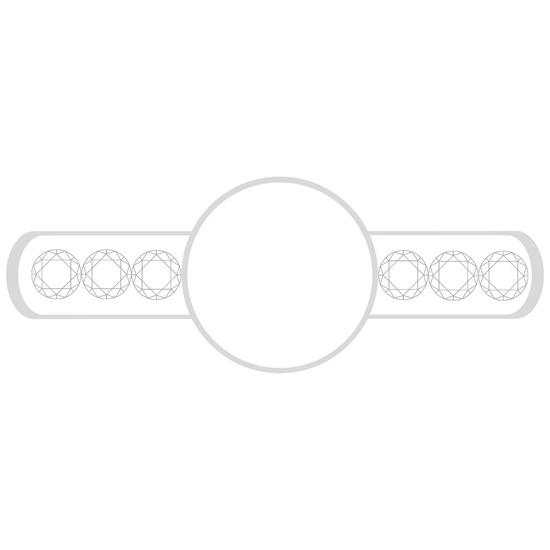 Solitaire: Diamond Shoulders